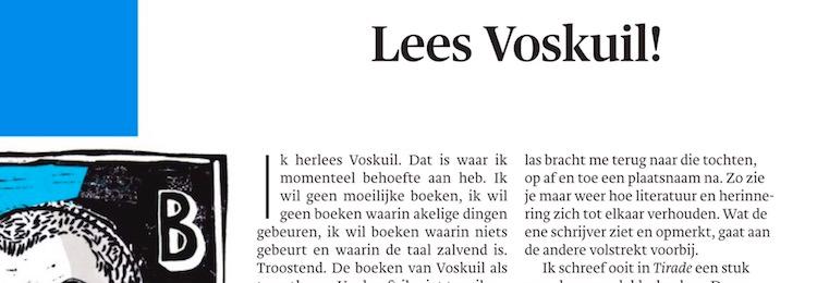 Lees Voskuil! [Trouw8.12.]